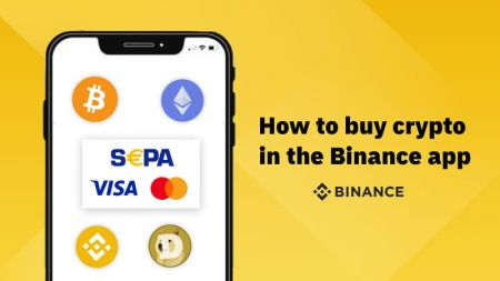 How to buy crypto with SEPA or credit card in the Binance app