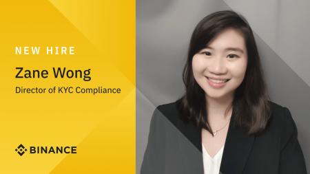 Binance Appoints Zane Wong as Director of KYC Compliance