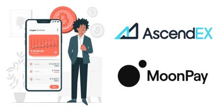 How to Buy Crypto with MoonPay for Fiat Payment in AscendEX