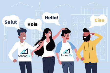 AscendEX Multilingual Support