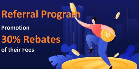 Huobi Referral Program Promotion - 30% Rebates of their Fees
