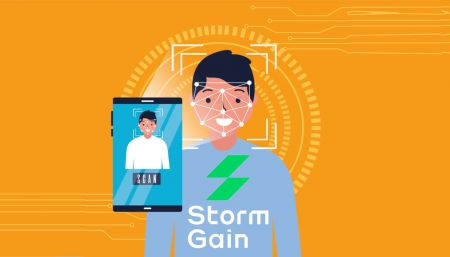 How to Verify Account in StormGain