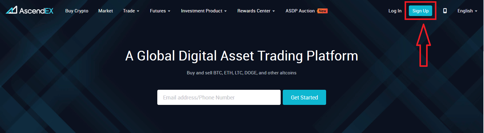 How to Register and Verify Account in AscendEX